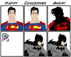 Batman vs Superman (x-post /r/Geekism/) : batman