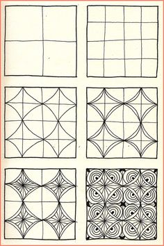 Doodle Patterns 508977195379365572 - Zentangle Archives – Page 6 of 10 – Crafting DIY Center Source by nathaliegyssler Zentangle Drawings, Doodles Zentangles, Doodle Drawings, Doodle Art, Pencil Drawings, Op Art, Easy Zentangle Patterns, Zen Doodle Patterns, Art Patterns