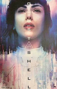 Ghost In The Shell movie poster.