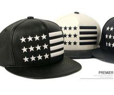 PU America USA Flag Star Decoration Snapback Hip-hop Cap - they should be mine!