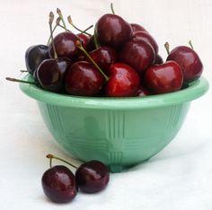Giant cherries at the Italian Market