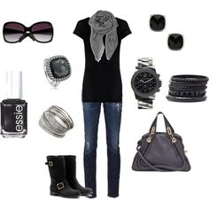 grey and black,