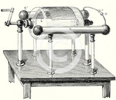 Image of Nairne's electrical machine, 1782 century).