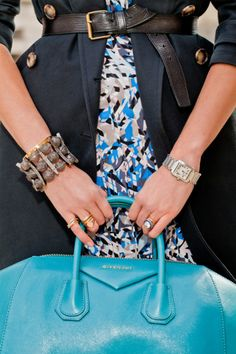 Everything is perfect. Especially the blue handbag. Makes you want to shut-up. Sincerely, JoAnne Craft