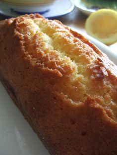 Lemon Pound Cake by spinning around, via Flickr