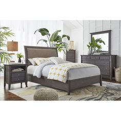 Found it at Wayfair - Pittsburg Sleigh Customizable Bedroom Set