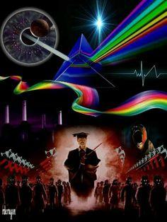 Pink Floyd Artwork, Pink Floyd Poster, Imagenes Pink Floyd, Art Music, Music Artists, Best Of Pink Floyd, Arte Pink Floyd, Rock Posters, Led Zeppelin
