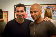 Serj Tankian & Tom Morello. #tommorrello http://www.pinterest.com/TheHitman14/tom-morello-%2B/