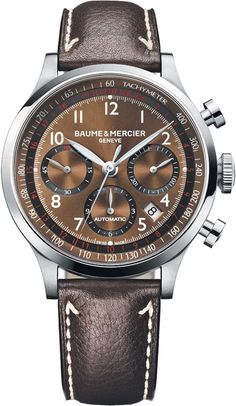 Welcome to Baume and Mercier, maison of Swiss luxury watches since 1830. #baumeandmercier