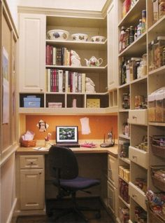 1000 images about kitchen pantry storage on pinterest - Pantry solutions for small spaces collection ...