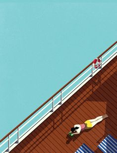 AFAR Magazine – The Cruise Illustrations by Malika Favre