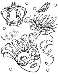 Here is Mardi Gras Coloring Sheets for you. Mardi Gras Coloring Sheets printable mardi gras coloring pages Free Printable Coloring Pages, Coloring Book Pages, Coloring Pages For Kids, Coloring Sheets, Mardi Gras Beads, Mardi Gras Party, Mardi Gras Decorations, Colorful Drawings, Copics