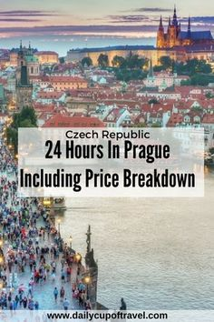 We couldn't get enough of Prague's fairytale city. Having planned to stay for only three days, we ended up spending a week here, exploring through cobbled stone streets, visiting gothic styled buildings and taking day trips from Prague. But if for whatever reason you find yourself with only 24 hours in Prague, then...