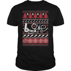 Awesome Tee HairStylist Hair Hair Dresser Ugly Christmas Sweater T shirts
