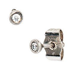 Solitaire Earrings Stud Diamond 950 Platinum Ladies for sale online Solitaire Earrings, Stud Earrings, Wessel, Jewelry Watches, Cufflinks, Ebay, Diamond, Accessories, Keys
