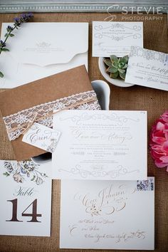 Inspiring wedding invitations