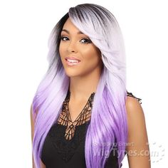 It's A Lace Front Wig - Synthetic Lace Front Wig - SWISS LACE MUJICA (futura) [10553]