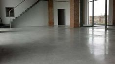 industrial concrete flooring at home