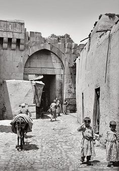 Bab es-Salam: Damascus, Syria 1900-1920