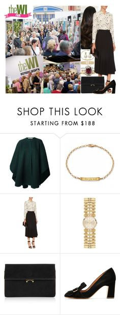 """Visiting the 2nd annual Women's Institutes Fair at Alexandra Palace, London in the morning"" by marywindsor ❤ liked on Polyvore featuring Yves Saint Laurent, Equipment, Orla Kiely, Marni and Rupert Sanderson"