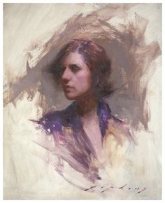 Jeremy Lipking Purple Kimono --- ghost children inspiration