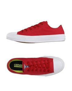 CONVERSE ALL STAR CHUCK TAYLOR II Women's Low-tops & sneakers Red 6 US