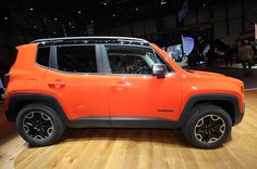 2015 Jeep Renegade Trailhawk 2015 Jeep Renegade Latitude Front ...