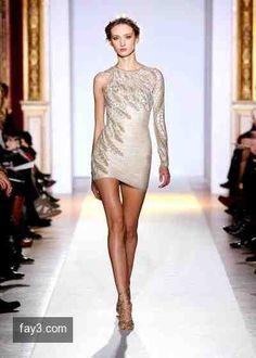 فستان من تصميم زهير مراد مجموعة هوت كوتور صورة 64