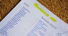 Bullet Journal menu Bujo, Menu, Bullet Journal, Menu Board Design
