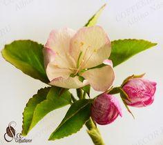 Цветок яблони из фоамирана