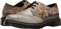 Dr. Martens Unisex 1461 3-Eye Shoe White Backhand/William Blake 12 M UK