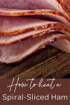 How to cook a spiral sliced ham in the oven without drying it out? It's actually very simple and I'll give you all the tips you'll need, along with an easy glaze recipe. Many of my readers have tried this easy method and love it!    #spiralslicedham #christmasham #easterham #thewickednoodle Pork Recipes For Dinner, Ham Recipes, Noodle Recipes, Low Carb Recipes, Easy Glaze Recipe, Cooking Spiral Ham, Ham In The Oven, Spiral Sliced Ham, Ham Dinner