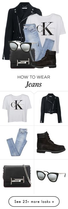 """""""Casual"""" by smartbuyglasses-uk on Polyvore featuring Givenchy, Calvin Klein, Tod's, Prada and Timberland"""