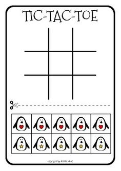 Free! Tic Tac toe, fun reinforcer! I used #3 and 4. I will run off the Easter one and Halloween one later.