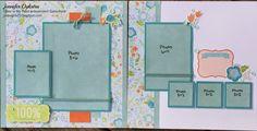 jd designs: Blossom Scrapbooking Layout