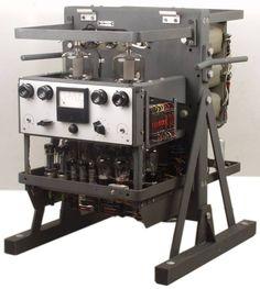 1kW Philips EL6471 Tube Amplifier from 1955