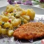 Zemiakovo - cibuľový šalát - NajRecept.sk Potato Salad, Mashed Potatoes, Macaroni And Cheese, Chili, Side Dishes, Salads, Food And Drink, Cooking Recipes, Ethnic Recipes