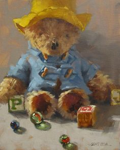 "Paddington by Karen Werner (oil painting 8"" x 10"")"