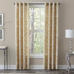 Grand Luxe 100-percent Linen Medallion Grommet Panel - Overstock™ Shopping - Great Deals on Veratex Curtains