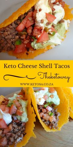 Keto Cheese shell tacos