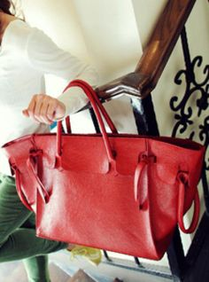 Red Vintage Satchels Bag$41.00 Fashion Bags, Fashion Outfits, More Cute, Leather Fashion, Tote Bag, Satchel Bag, Satchels, Purses, Red