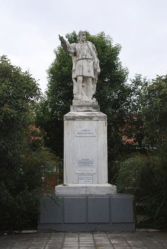 Paulos Melas Statue, Drama - Macedonian Struggle - Wikipedia, the free encyclopedia Drama, Freedom Fighters, Statue Of Liberty, Greece, Travel, Statue Of Liberty Facts, Greece Country, Viajes, Statue Of Libery