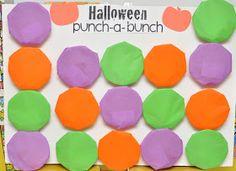 The Techy Teacher: Halloween Punch-A-Bunch!