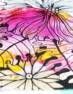 alisaburke: a peek inside my art journal. ♡♡ her creativity...
