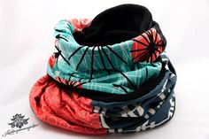 Auffällig bunter Loop - Schal von #Lieblingsmanufaktur