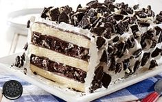 Recipe from Nabisco: Use Tasty Ice Cream Sandwiches and Fudge to Create a Labor Day Treat!
