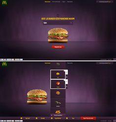 McDonalds create the new burger
