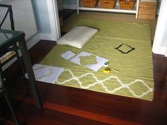 DIY Morrocan Rug