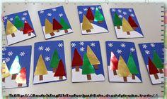 Χριστουγεννιάτικες κάρτες και ημερολόγια | ...Στο Νηπιαγωγείο