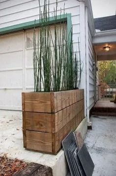 cool diy front porch planter design ideas front decor front with regard Mid Century Landscaping, Front Yard Landscaping, Backyard Patio, Landscaping Ideas, Outdoor Landscaping, Pergola Ideas, Backyard Ideas, Patio Stairs, Cheap Pergola